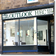 Outlook shop front