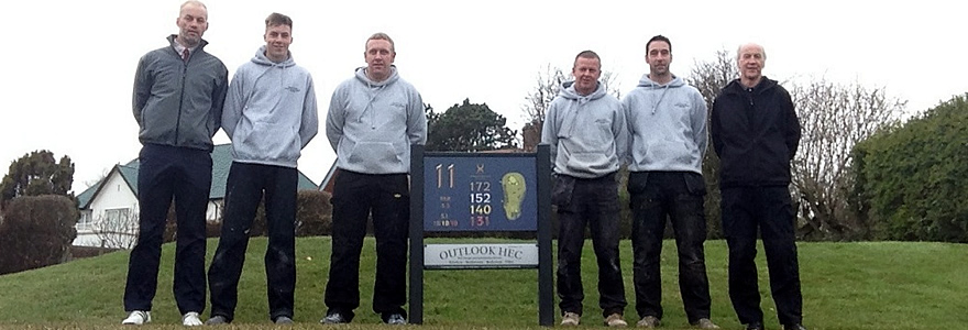 outlook at Foxton golf club
